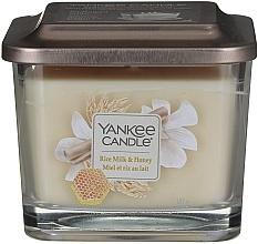 Parfüm, Parfüméria, kozmetikum Illatosított gyertya - Yankee Candle Elevation Rice Milk & Honey