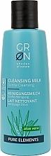 Parfüm, Parfüméria, kozmetikum Tisztító tej - GRN Pure Elements Aloe Vera Cleansing Milk