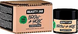 Parfüm, Parfüméria, kozmetikum Szemöldök peeling - Beauty Jar Brow-A-Holic Eyebrow Scrub