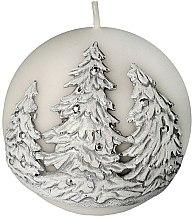 """Parfüm, Parfüméria, kozmetikum Dekoratív gyertya """"Gömb. Karácsonyfák"""", 10 cm - Artman Christmas Tree Candle Ball"""