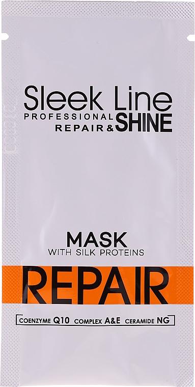 Maszk hajra - Stapiz Sleek Line Repair Hair Mask (minta)