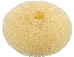 Parfüm, Parfüméria, kozmetikum Konytalátét, gömbölyű, világos, 110 mm - Lussoni Hair Bun Ring Yellow