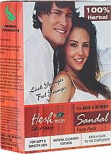 Parfüm, Parfüméria, kozmetikum Pormaszk arcra - Hesh Sandal Face Pack