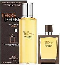 Parfüm, Parfüméria, kozmetikum Hermes Terre D'Hermes Eau Intense Vetiver - Szett (edp/30 ml + edp/125 ml)