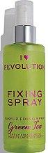 Parfüm, Parfüméria, kozmetikum Sminkfixáló spray - I Heart Revolution Fixing Spray Green Tea
