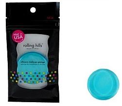 Parfüm, Parfüméria, kozmetikum Szilikon sminkszivacs - Rolling Hills Silicone Makeup Sponge Blue