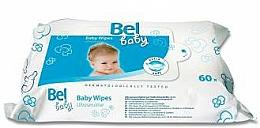 Parfüm, Parfüméria, kozmetikum Nedves törlőkendő gyermekeknek, érzékeny bőrre - Bel Baby Wipes