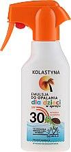 Parfüm, Parfüméria, kozmetikum Napozó spray gyerekeknek - Kolastyna Suncare for Kids Spray SPF 30