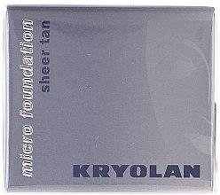 Parfüm, Parfüméria, kozmetikum Vízálló hab állagú alapozó - Kryolan HD Micro Foundation Sheer Tan