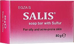 Parfüm, Parfüméria, kozmetikum Szürke szappan zsíros és problémás bőrre - Egza-S Salis Soap Bar With Sulfur