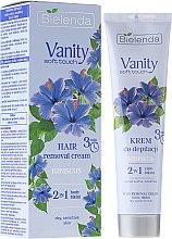 "Parfüm, Parfüméria, kozmetikum Szőrtelenítő krém ""Hibiszkusz"" - Bielenda Vanity Soft Touch Hibiscus"