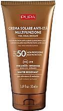 Parfüm, Parfüméria, kozmetikum Öregedésgátló napvédő dekoltázs- és arckrém - Pupa Anti-Aging Sunscreen Cream SPF 50