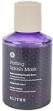 Parfüm, Parfüméria, kozmetikum Fiatalító splash maszk - Blithe Rejuvenating Purple Berry Splash Mask