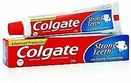 "Parfüm, Parfüméria, kozmetikum Fogkrém ""Erős fogak"" - Colgate Strong Teeth Toothpaste"