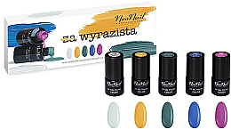Parfüm, Parfüméria, kozmetikum Készlet - NeoNail Professional Wyrazista Set (5 x nail/polish/3ml)