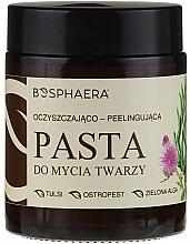 Parfüm, Parfüméria, kozmetikum Arctisztító peeling paszta zöld algával - Bosphaera