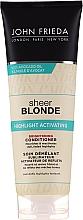Parfüm, Parfüméria, kozmetikum Hajszőkítő kondicionáló - John Frieda Sheer Blonde Highlight Activating Brightening Conditioner
