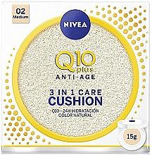 Parfüm, Parfüméria, kozmetikum Alapozó cushion - Nivea Q10 Plus Anti-Aging Radiance BB Cushion