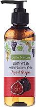 Parfüm, Parfüméria, kozmetikum Tusfürdő füge és szőlő illattal - Belle Nature Bath Wash Figs&Grapes