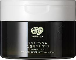 Parfüm, Parfüméria, kozmetikum Tisztító korong - Whamisa Organic Fruits Peeling Finger Mitt Sebum Care