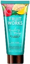 """Parfüm, Parfüméria, kozmetikum Testradír """"Málna és mangó"""" - Grace Cole Fruit Works Body Scrub Raspberry & Mango"""