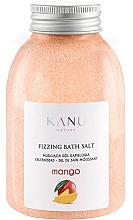 "Parfüm, Parfüméria, kozmetikum Pezsgő fürdősó ""Mangó"" - Kanu Nature Mango Fizzing Bath Salt"