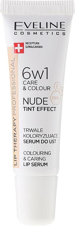 Intenzív ajakszérum 6 az 1-ben - Eveline Cosmetics Lip Therapy Proffesional Tint