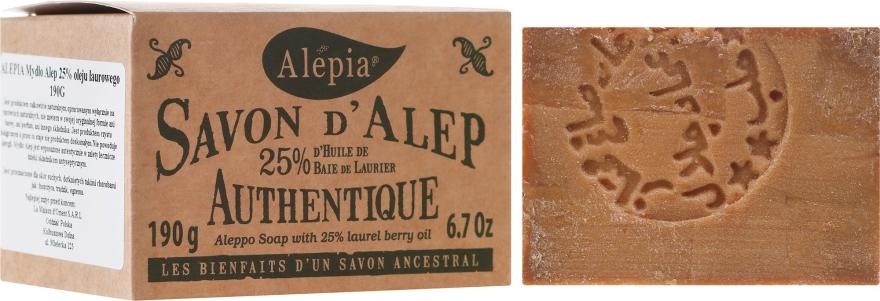Szappan 25%-os babérolaj kivonattal - Alepia Soap 25% Laurel
