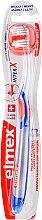 Parfüm, Parfüméria, kozmetikum Fogkefe, lágy, átlátszó műanyag, kék és narancssárga - Elmex Toothbrush Caries Protection InterX Soft Short Head