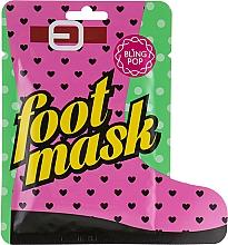 Parfüm, Parfüméria, kozmetikum Pedikűr zokni shea vajjal - Bling Pop Shea Butter Healing Foot Mask