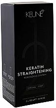 Parfüm, Parfüméria, kozmetikum A keratin kiegyenesítés gyógyító rendszere - Keune Keratin Straightening Rebonding System Strong