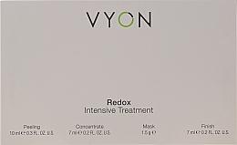 Parfüm, Parfüméria, kozmetikum Szett - Vyon Redox Intensive Tretment (peel/10ml + conc/7ml + mask/1.5g + finish/7ml)