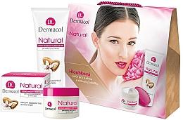 Parfüm, Parfüméria, kozmetikum Készlet - Dermacol Natural Set (fase/cr 50ml + h/cr 100ml)