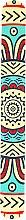 "Parfüm, Parfüméria, kozmetikum Körömreszelő ""Etno"", 77012, sárga - Top Choice"