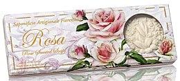 "Parfüm, Parfüméria, kozmetikum Természetes szappan szett ""Rózsa"" - Saponificio Artigianale Fiorentino Rosa Scented Soaps (soap/3pcsx125g)"