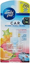"""Parfüm, Parfüméria, kozmetikum Illatosító utántöltő """"Trópusi gyümölcsök"""" - Ambi Pur Air Freshener Refill Tropical Fruits"""