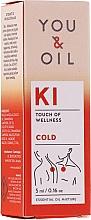 Parfüm, Parfüméria, kozmetikum Illóolaj keverék - You & Oil KI-Cold Touch Of Welness Essential Oil