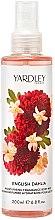 Parfüm, Parfüméria, kozmetikum Yardley English Dahlia Body Mist - Mist spray testápoló