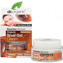 Parfüm, Parfüméria, kozmetikum Csiga gél-krém arcra - Dr. Organic Bioactive Skincare Snail Gel Cream