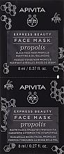 Parfüm, Parfüméria, kozmetikum Fekete propolisz arcmaszk - Apivita Express Beauty Purifying & Oil-Balancing Propolis Black Face Mask