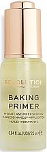 Parfüm, Parfüméria, kozmetikum Primer arcra - Makeup Revolution Baking Primer