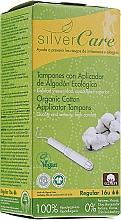"""Parfüm, Parfüméria, kozmetikum Organikus pamut tampon """"Regular """", 16db - Masmi Silver Care"""