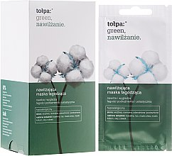 Parfüm, Parfüméria, kozmetikum Hidratáló arcmaszk - Tolpa Green Hydration Moisturizing Soothing Mask
