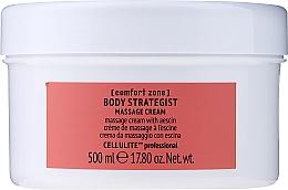 Parfüm, Parfüméria, kozmetikum Narancsbőr elleni krém testre aescin-nel - Comfort Zone Body Strategist Massage Cream