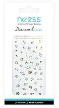 Parfüm, Parfüméria, kozmetikum Körömdíszítő matrica,3711 - Neess Diamondneess