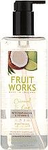 """Parfüm, Parfüméria, kozmetikum Szappan """"Kókusz és lime"""" - Grace Cole Fruit Works Coconut & Lime Hand Wash"""