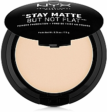 Parfüm, Parfüméria, kozmetikum Arcpúder - NYX Professional Makeup Stay Matte But Not Flat Powder Foundation