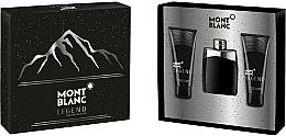 Parfüm, Parfüméria, kozmetikum Montblanc Legend - Szett (edt/100ml+ash/balm/100ml+sh/gel/100ml)