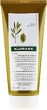 Parfüm, Parfüméria, kozmetikum Hajkondicionáló - Klorane Thickness & Vitality Conditioner With Essential Olive Extract