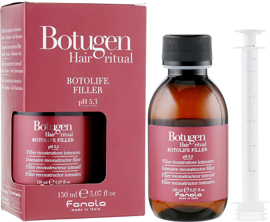 Rekonstruáló filler hajra - Fanola Botugen Hair System Botolife Filler